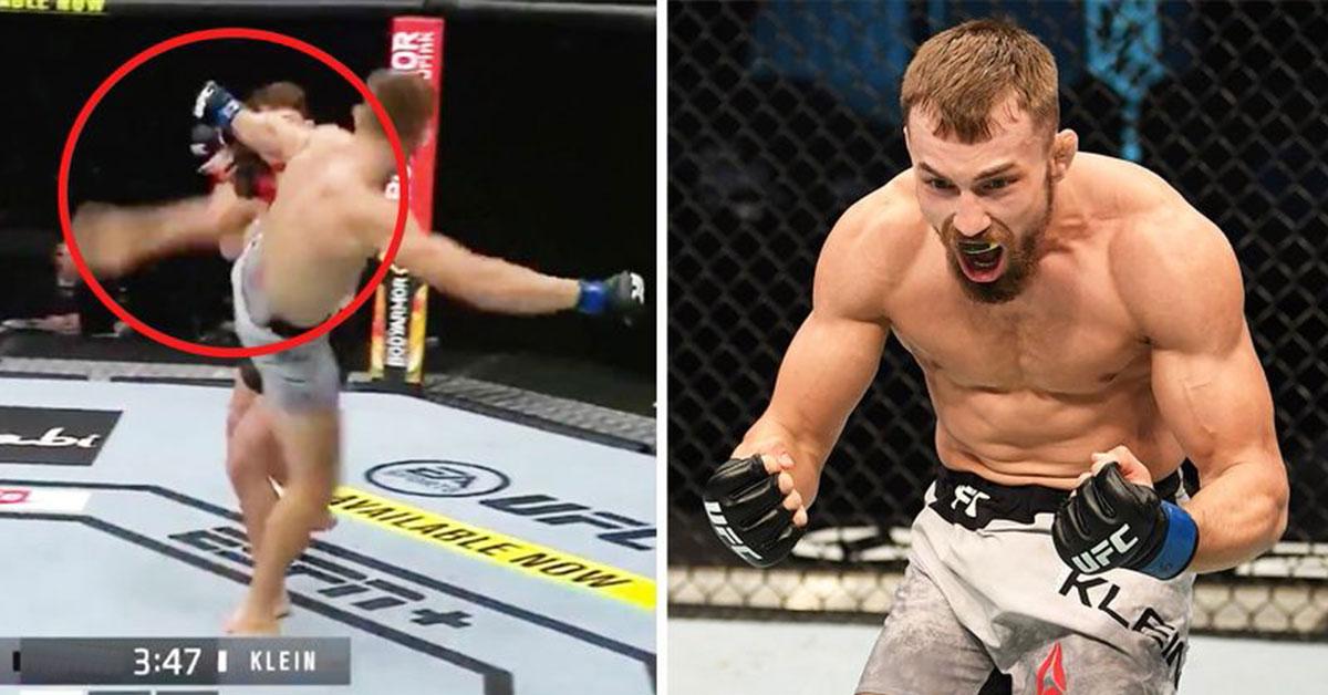 Klein v premiére UFC