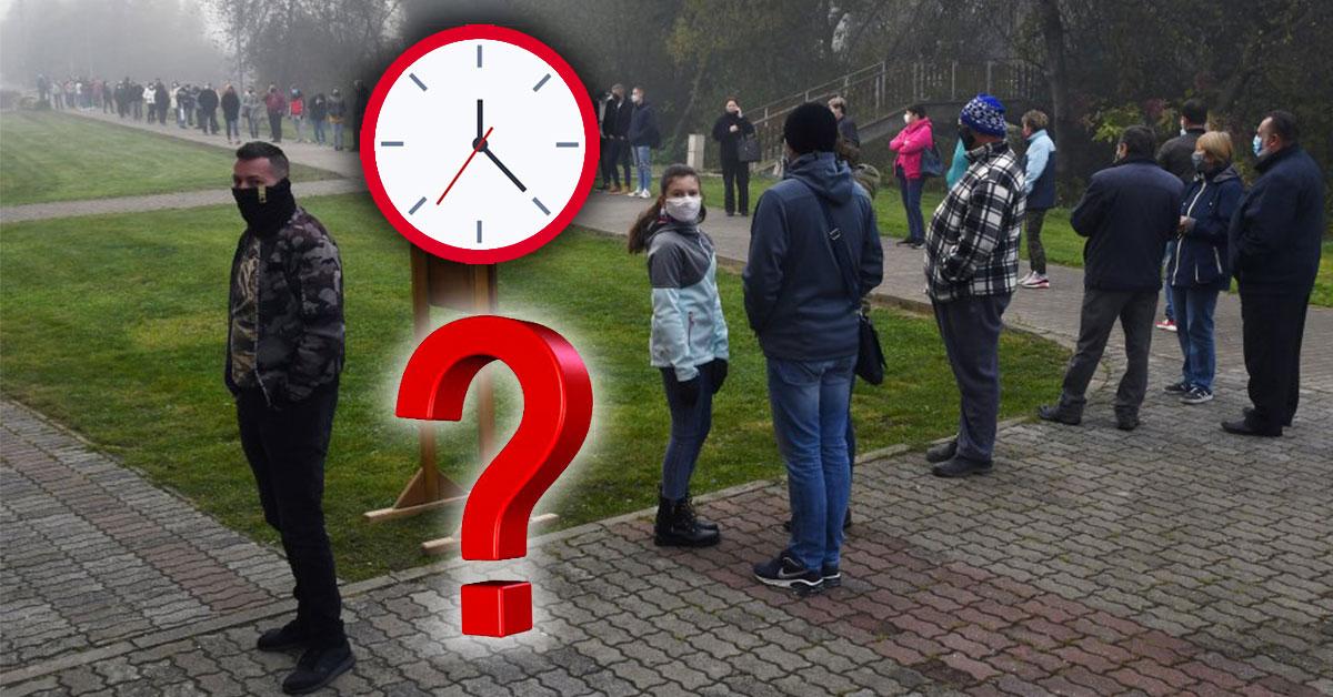 Kedy ísť na testovanie?