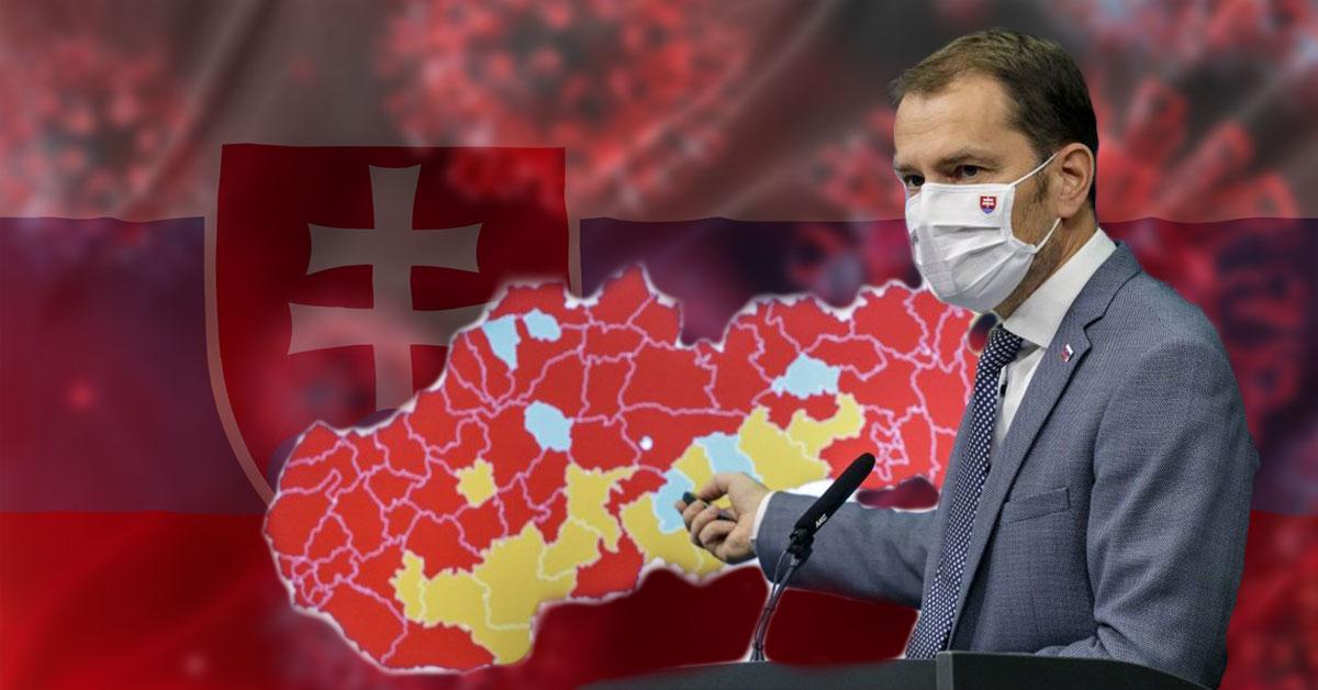 Premiér Igor Matovič nákaza v okresoch