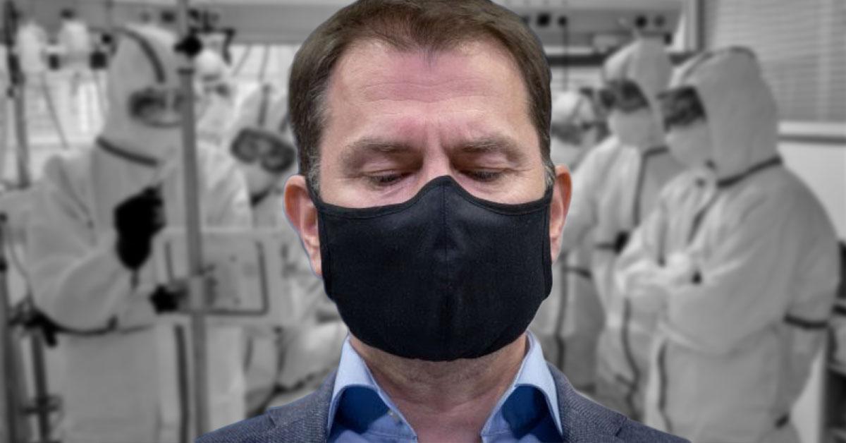 Premiér Igor Matovič - pribudlo ďalších 17 úmrtí