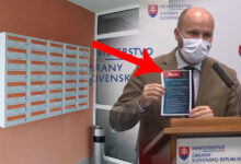 Photo of POZOR! Informačný leták o testovaní obsahuje CHYBU, upozornil na to minister obrany Jaroslav Naď.