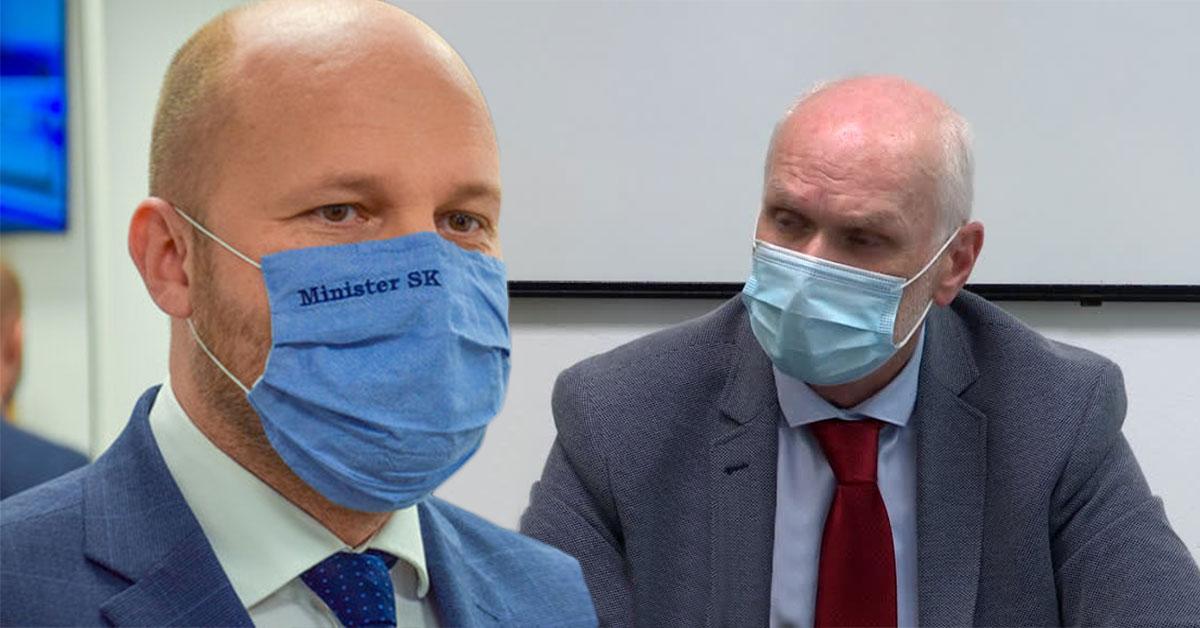 Minister obrany Jaroslav Naď sa hanbí