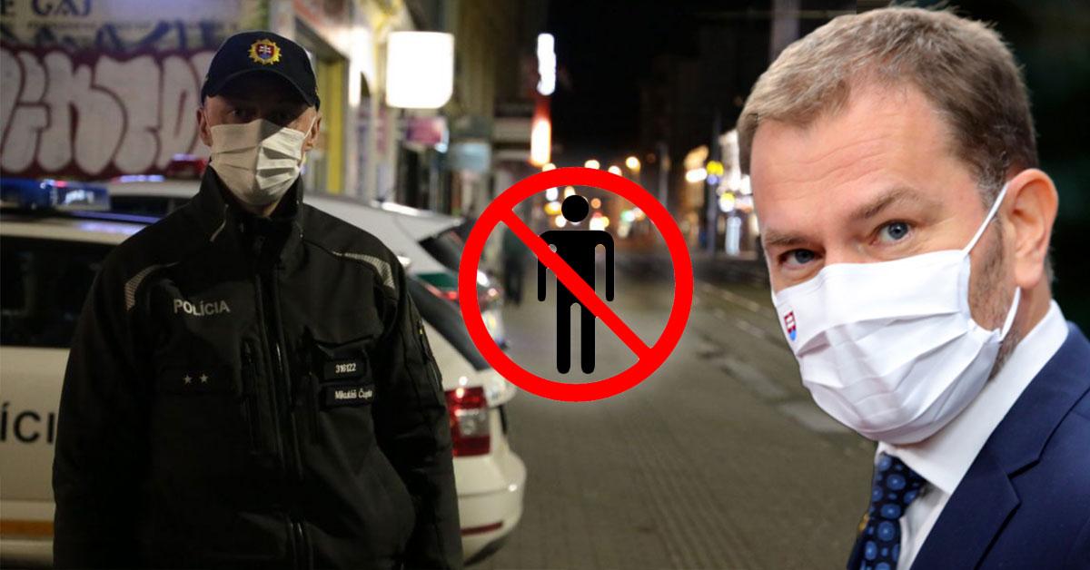 Obmedzenie pohybu na celom Slovensku od SOBOTY