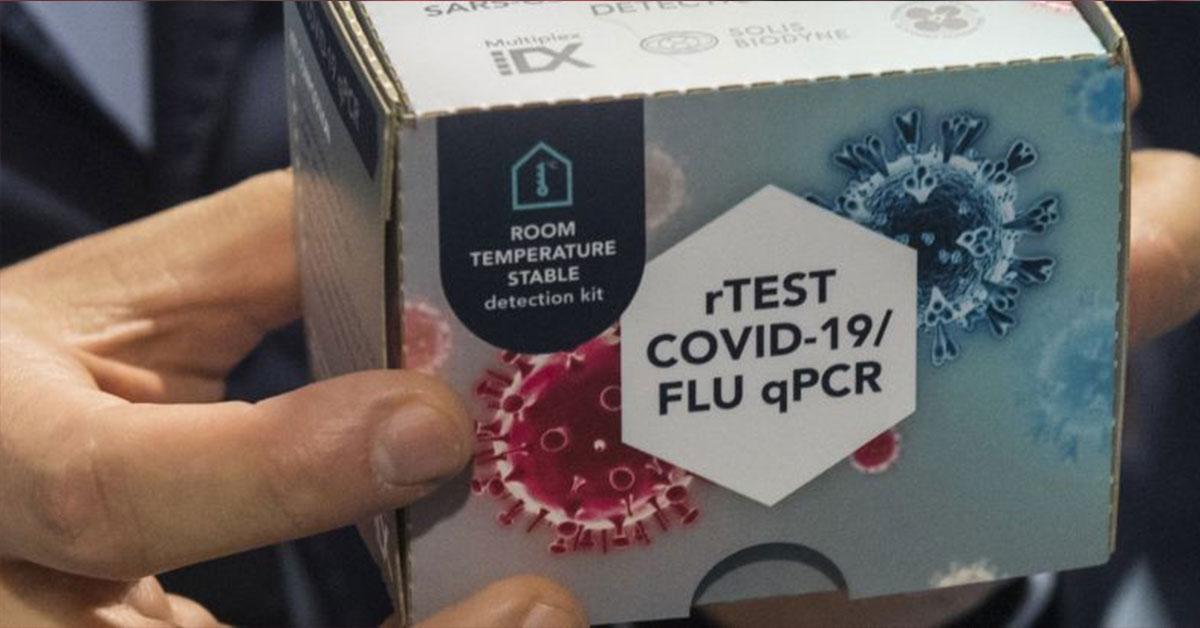 PCR test, Ilustračná fotografia