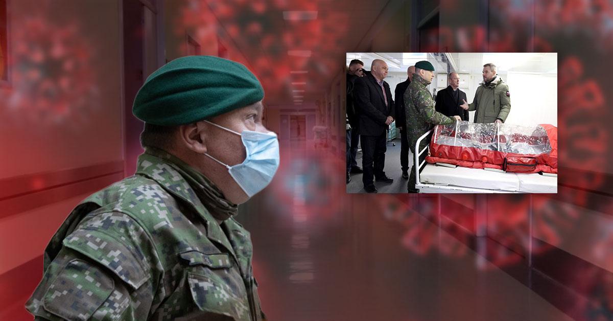 Pomoc armády nemocniciam