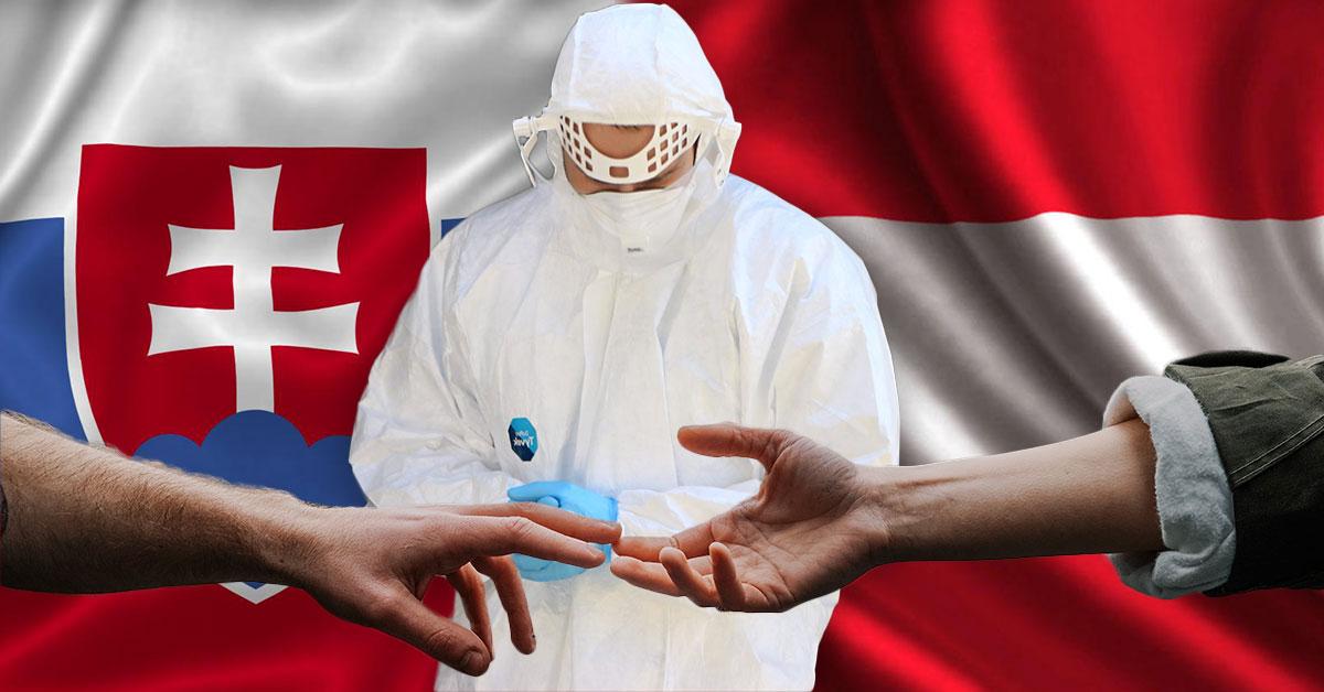 Pomoc z Rakúska pri celoplošnom testovaní na Slovensku