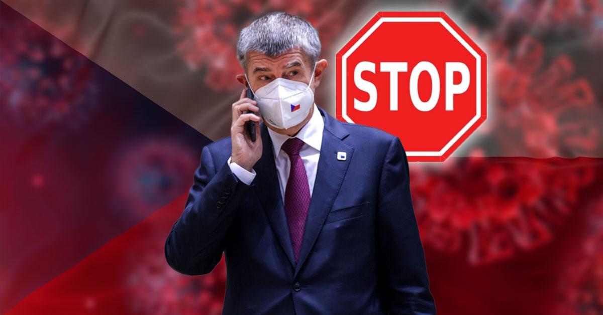 Premiér Andrej Babiš - Lockdown