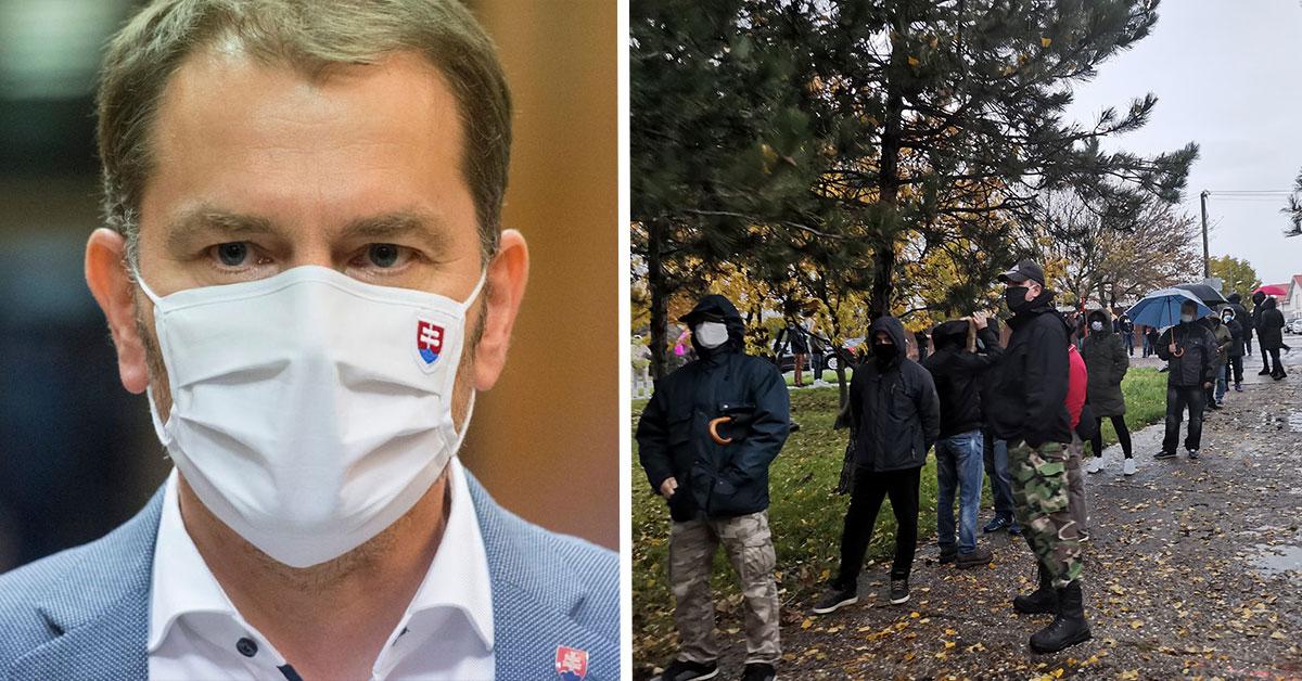 Premiér Igor Matovič odporučil a odkazuje