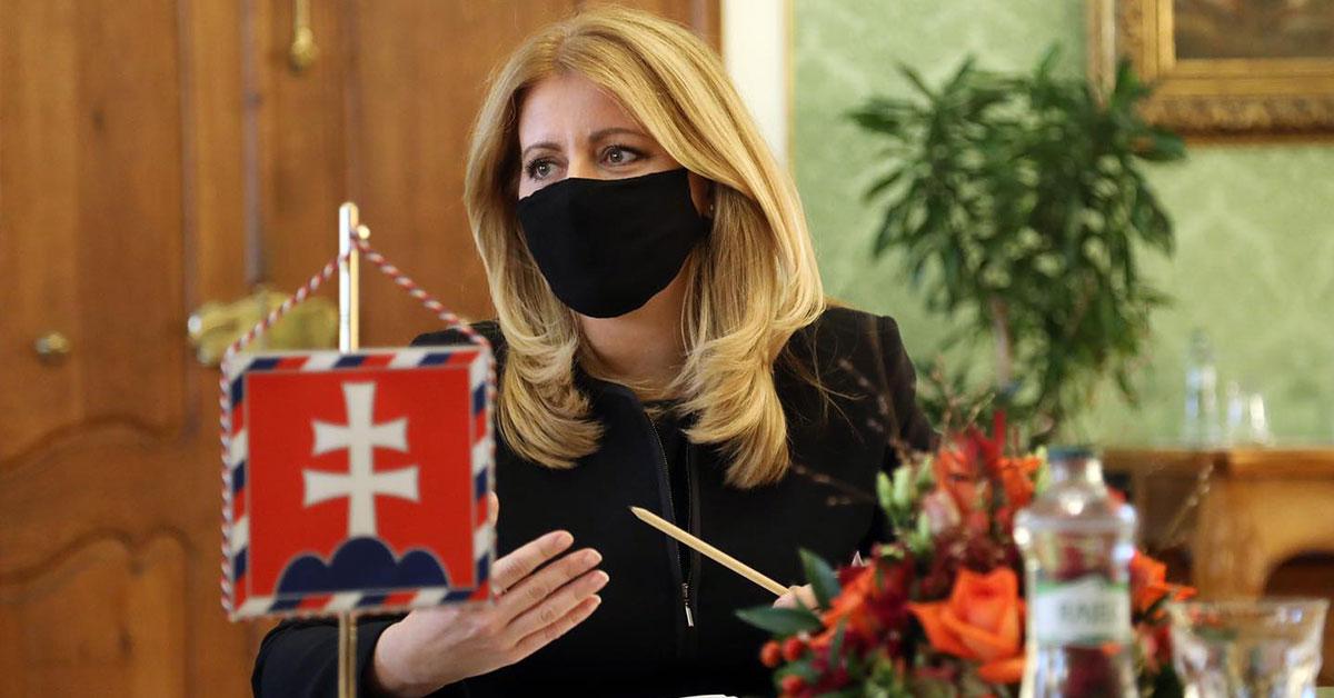Prezidentka Zuzana Čaputová vyzýva premiéra