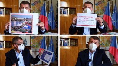 Photo of DRSNÝ a VYČÍTAVÝ príhovor českého premiéra Andreja Babiša, opatrenia NEFUNGUJÚ