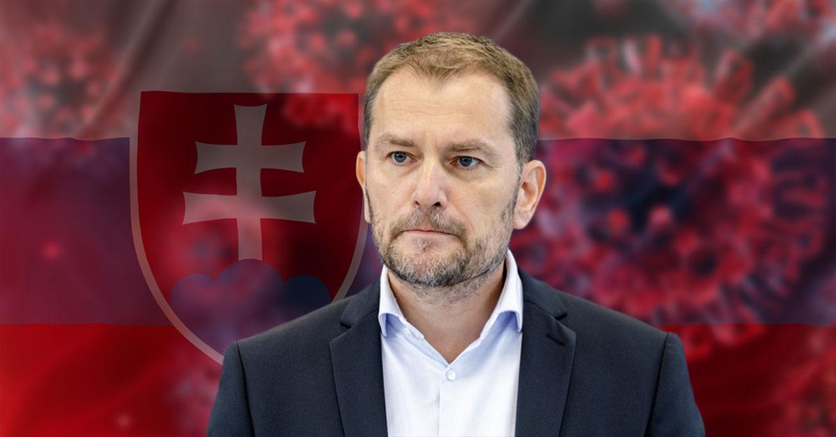 Premiér Igor Matovič je z výsledkov nešťastný