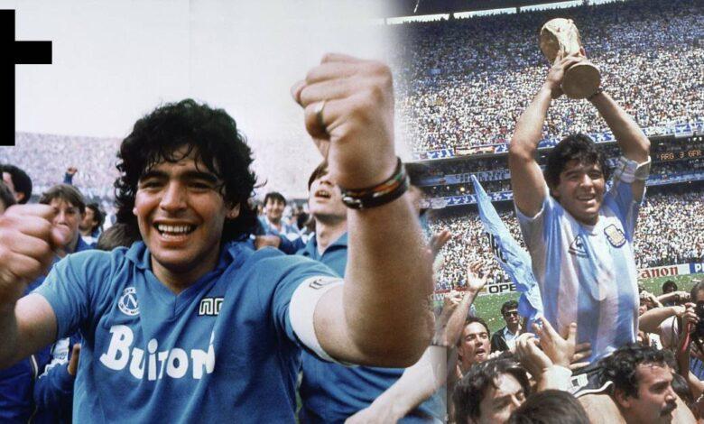 Diego Maradona zomrel