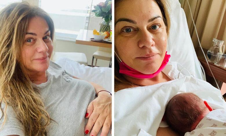 Monika Beňová porodila dcérku Leu