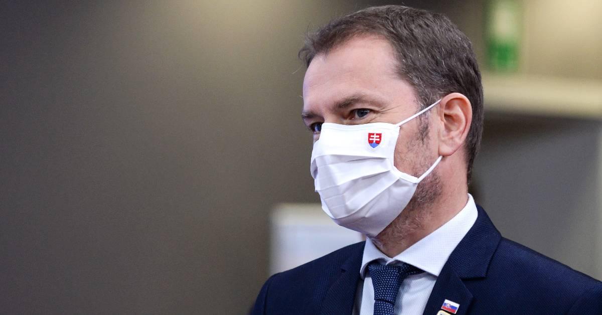 Premiér Igor Matovič oznámil