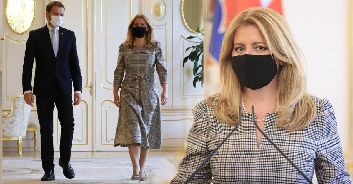 Prezidentka Zuzana Čaputová v karanténe