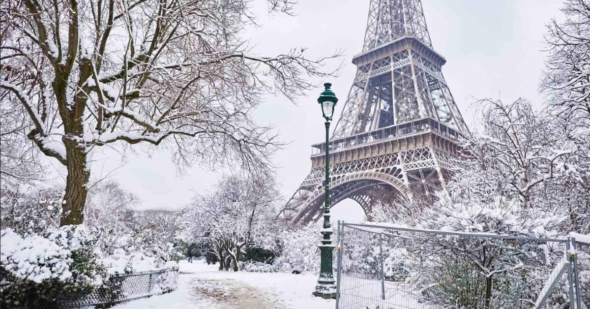 V Európe sneží