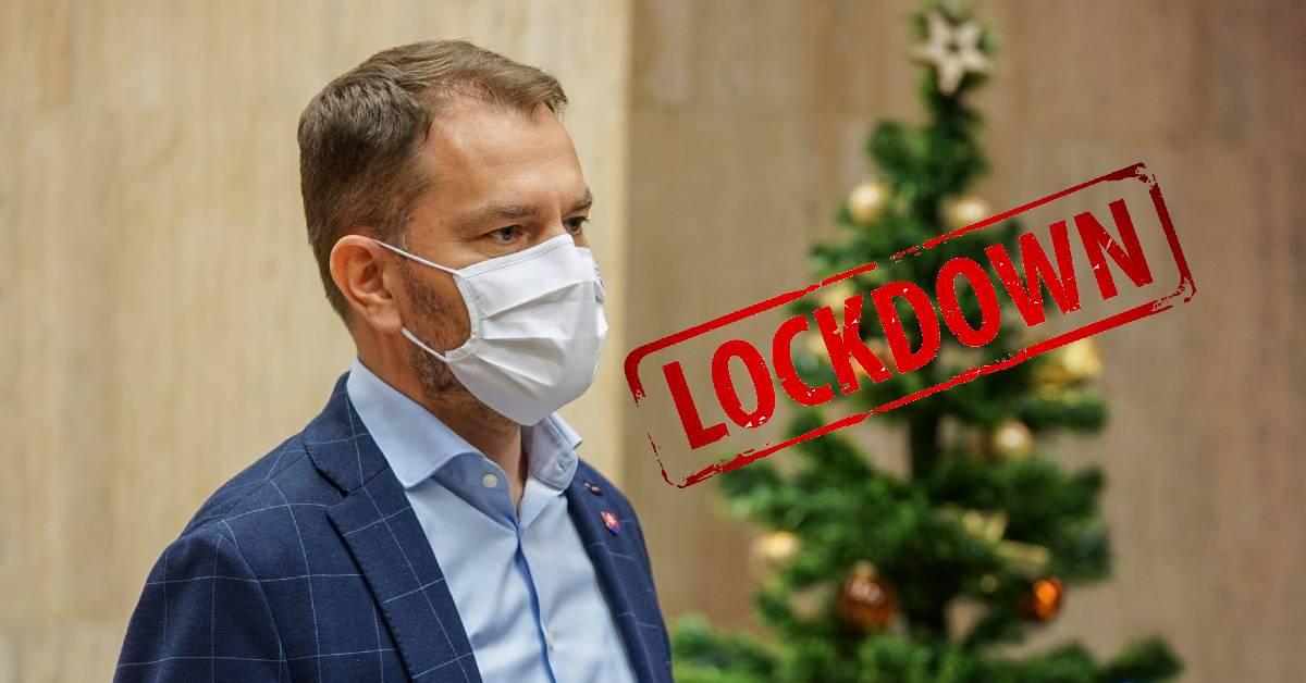 Slovensko čaká lockdown