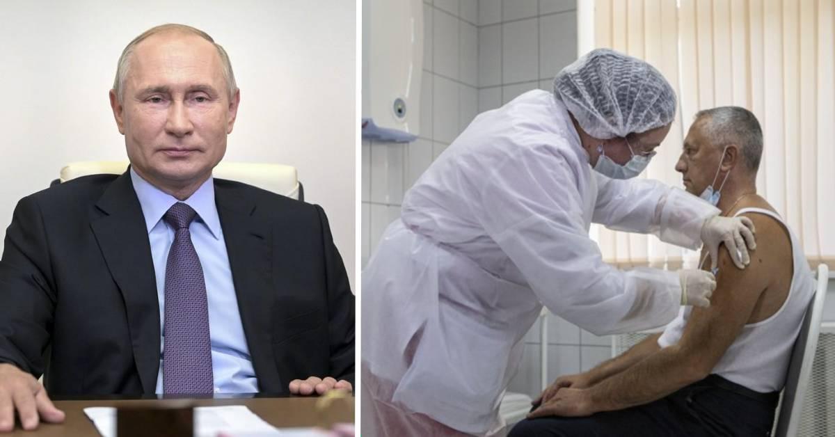 Očkovanie v Rusku začalo