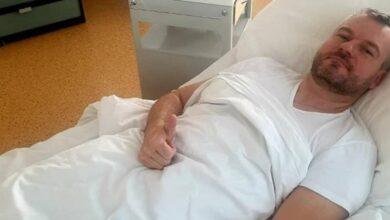Pellegrini leží v nemocnici