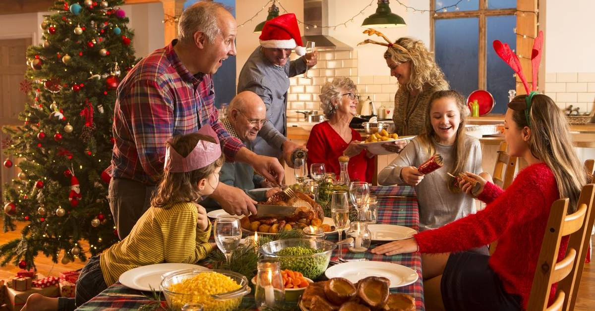 Rodina počas Vianoc